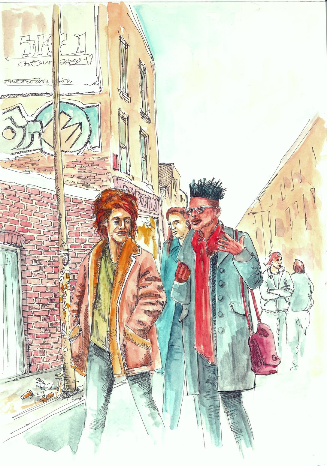 Brick Lane: Martinsdoodles's Blog