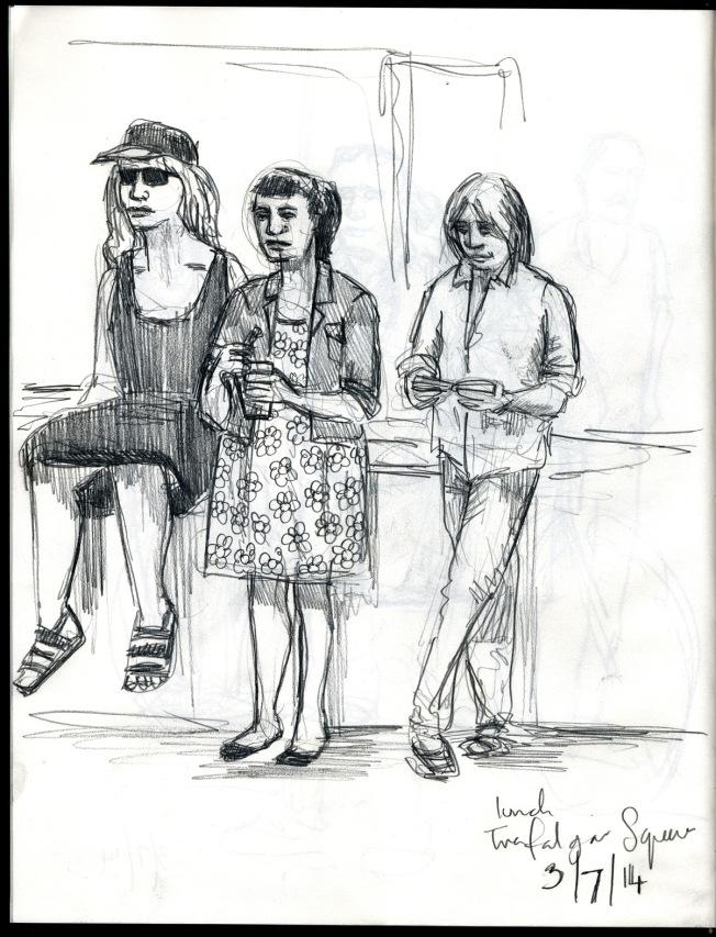 Trafalgar Squ July 14